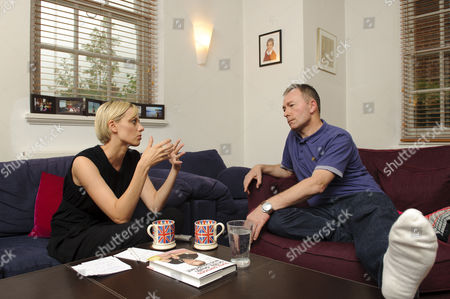 Editorial photo of Author Tony Parsons at his north London home, London, Britain - 26 Aug 2010