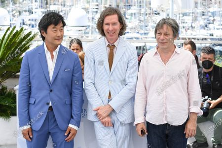Stephen Park, Wes Anderson and Mathieu Amalric