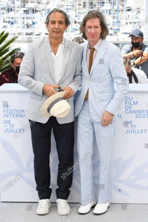 Stock Image of Alexandre Desplat and Wes Anderson