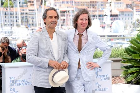 Alexandre Desplat and Wes Anderson