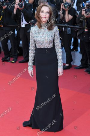 Stock Picture of Isabelle Huppert