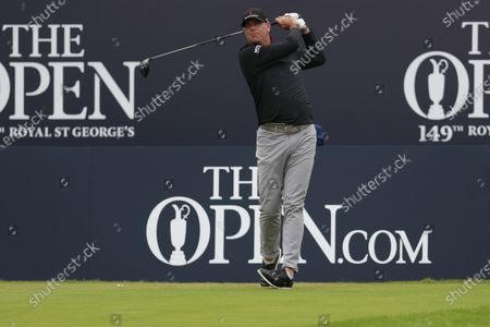 Editorial photo of The British Open Golf, Practice, St George's, Kent, UK - 14 Jul 2021