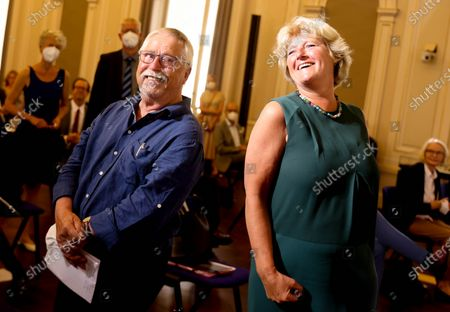 Editorial image of Handover ceremony of Wolf Biermann's archive to the Berlin State Library, Germany - 13 Jul 2021