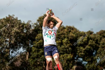British & Irish Lions Captain's Run, South Africa 13/7/2021. Iain Henderson