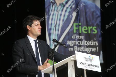 Stock Picture of Julien Denormandie.