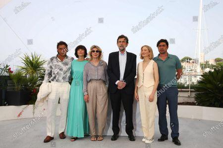 Adriano Giannini, Elena Lietti, Margherita Buy, Director Nanni Moretti, Alba Rohrwacher and Riccardo Scamarcio