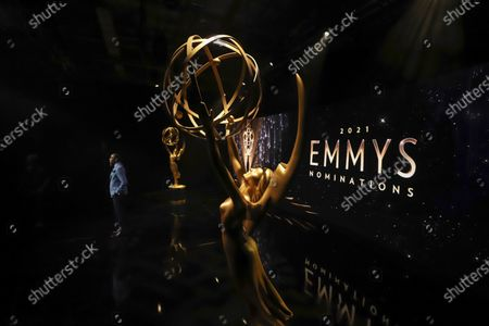 Ron Cephas Jones (in Los Angeles) and Jasmine Cephas Jones (from New York), not pictured, announce the nominated programs and performers for the 73rd Emmy Awards via live streaming on Emmys.com from ShowPro Live Studios on in Los Angeles