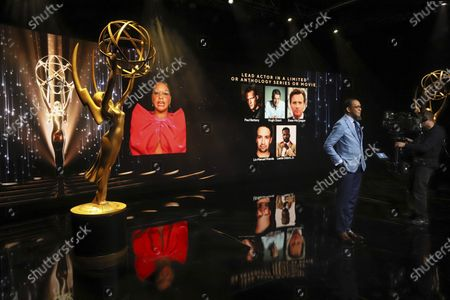 Ron Cephas Jones (in Los Angeles) and Jasmine Cephas Jones (from New York) announce this year's Emmy nominees for Outstanding Lead Actor in a Limited or Anthology Series or Movie during the 73rd Emmy Awards Nominations Announcements via live streaming on Emmys.com from ShowPro Live Studios on in Los Angeles