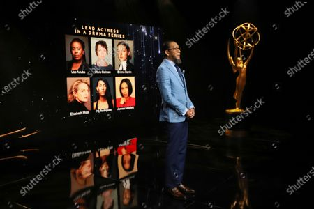 Ron Cephas Jones (in Los Angeles) and Jasmine Cephas Jones (from New York) announce this year's Emmy nominees for Outstanding Lead Actress in a Drama Series via live streaming on Emmys.com from ShowPro Live Studios on in Los Angeles