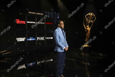 Ron Cephas Jones (in Los Angeles) and Jasmine Cephas Jones (from New York) announce this year's Emmy nominees for Outstanding Drama Series or movie via live streaming on Emmys.com from ShowPro Live Studios on in Los Angeles