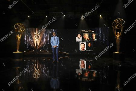 Ron Cephas Jones (in Los Angeles) and Jasmine Cephas Jones (from New York) announce this year's Emmy nominees for Outstanding Lead Actor in a Comedy Series during the 73rd Emmy Awards Nominations Announcements via live streaming on Emmys.com from ShowPro Live Studios on in Los Angeles