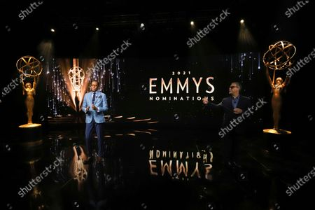 Television Academy Chairman and CEO Frank Scherma welcomes Emmy Award winners Ron Cephas Jones in Los Angeles and Jasmine Cephas Jones from New York to announce the 73rd Emmy Awards Nominations via live streaming on Emmys.com from ShowPro Live Studios on in Los Angeles