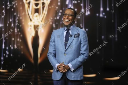 Stock Picture of Ron Cephas Jones (in Los Angeles) and Jasmine Cephas Jones (from New York), not pictured, announce the nominated programs and performers for the 73rd Emmy Awards via live streaming on Emmys.com from ShowPro Live Studios on in Los Angeles
