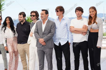 Kenza Fortas, Karim Leklou, Francois Civil, Gilles Lellouche, Cedric Jimenez, Hugo Selignac and Adele Exarchopoulos