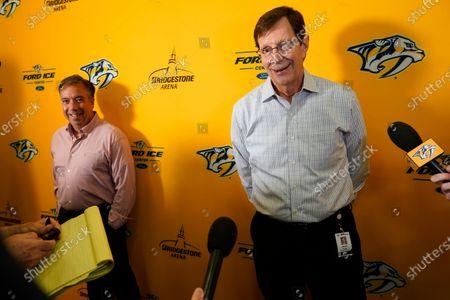 Editorial image of Predators Rinne Hockey, Nashville, United States - 13 Jul 2021