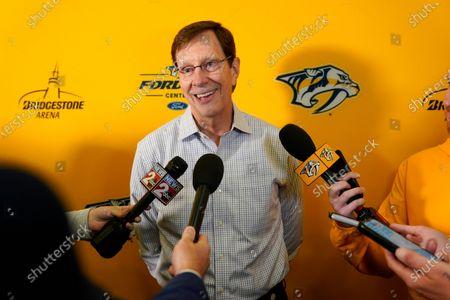 Editorial picture of Predators Rinne Hockey, Nashville, United States - 13 Jul 2021