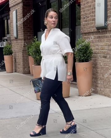 Editorial photo of Exclusive - Melinda Gates out and about, New York, USA - 13 Jul 2021