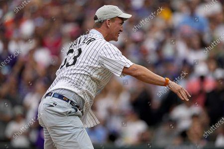 Editorial photo of All Star Game Baseball, Denver, United States - 13 Jul 2021