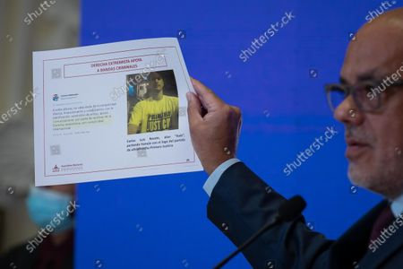 Editorial picture of President of the Venezuelan Parliament denounces attempted assassination of Maduro, Caracas, Venezuela - 13 Jul 2021