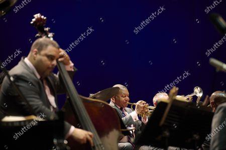 Editorial picture of Jazz At Lincoln Center Orchestra in concert, Noches del Botanico music festival, Montejo de la Sierra, Spain - 13 Jul 2021