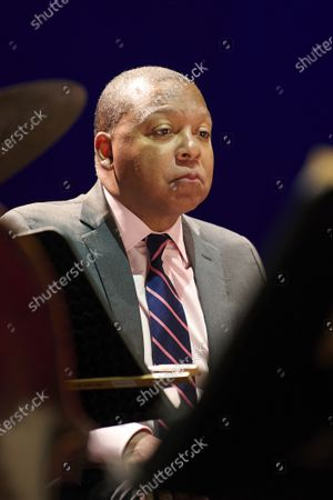 Wynton Marsalis with Jazz At Lincoln Center Orchestra performs live at the Noches del Botánico music festival at Royal Botanical Garden Alfonso XIII