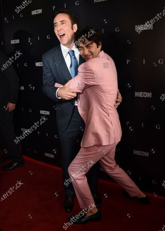 """Editorial picture of Premiere of """"Pig"""", Los Angeles, United States - 13 Jul 2021"""