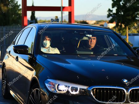 Joao Mario of SL Benfica leaving Benfica Campus / Sport Lisboa e Benfica Training and Internship Center, after a training game of Pre Season 2021/2022 against Belenenses SAD on July 13, 2021 in Seixal, Portugal.