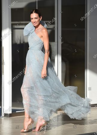 Editorial image of Celebrities out and about, 74th Cannes Film Festival, France - 13 Jul 2021