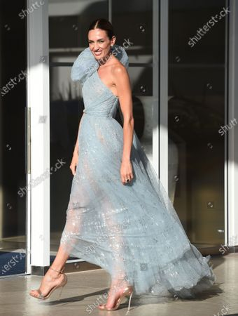 Editorial photo of Celebrities out and about, 74th Cannes Film Festival, France - 13 Jul 2021