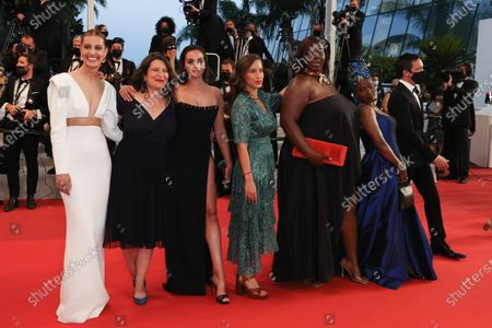 Sveva Alviti, Deborah Lukumuena, Anais Volpe, Souheila Yacoub and Guests