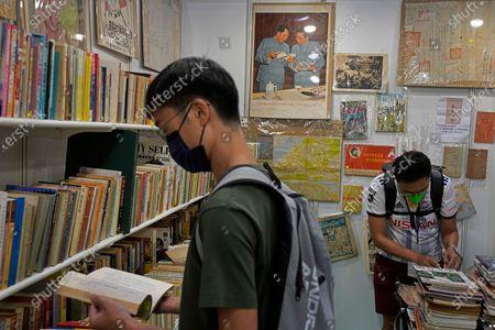 Editorial photo of Book Fair, Hong Kong, Hong Kong - 14 Jul 2021