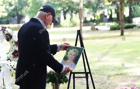 Frederic Prince von Anhalt during the urn burial of Zsa Zsa Gabor at Kerepean cemetery in Budapest Hollywood Diva Zsa Zsa Gabor was buried as part of an emotional life celebration.