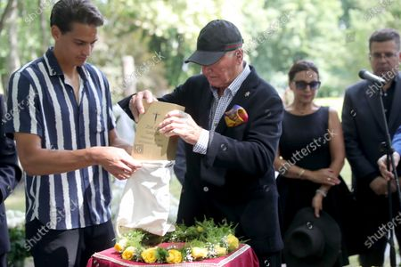 Editorial photo of Burial of Zsa Zsa Gabor at Kerepes Cemetery, Budapest, Hungary - 13 Jul 2021