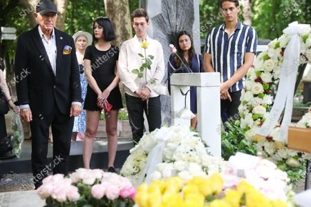 Editorial image of Burial of Zsa Zsa Gabor at Kerepes Cemetery, Budapest, Hungary - 13 Jul 2021