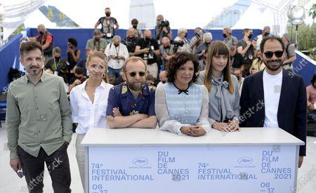 Editorial image of Cinefondation Jury Photocall - 74th Cannes Film Festival, France - 14 Jul 2021