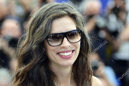 Maiwenn poses during the photocall for 'Tralala' at the 74th annual Cannes Film Festival, in Cannes, France, 14 July 2021. The festival runs from 06 to 17 July.