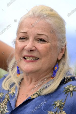 Josiane Balasko poses during the photocall for 'Tralala' at the 74th annual Cannes Film Festival, in Cannes, France, 14 July 2021. The festival runs from 06 to 17 July.