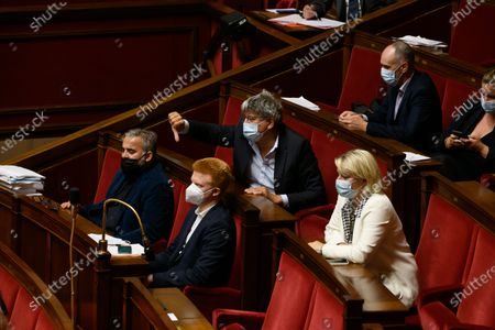 Editorial image of Weekly session of questions to the government, Paris, France - 13 Jul 2021