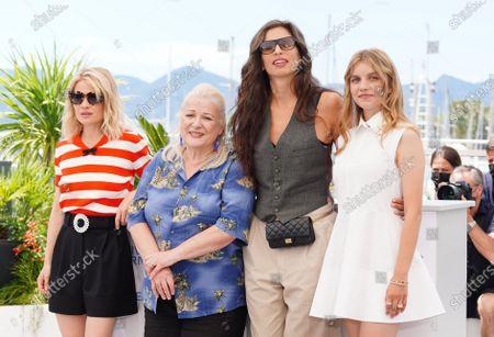 Melanie Thierry, Josiane Balasco, Maiwenn and Galatea Bellugi
