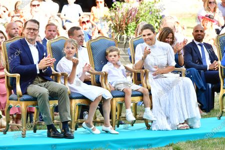 Prince Daniel, Princess Estelle, Prince Oscar and Crown Princess Victoria
