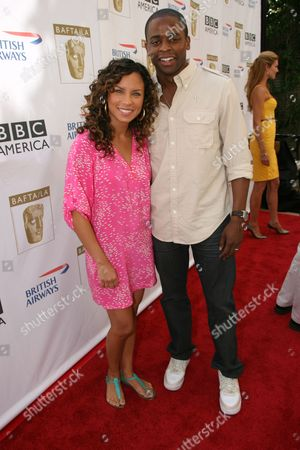 Stock Picture of Nicole Lyn and Dule Hill