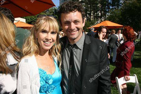 Julia Verdin and Michael Sheen
