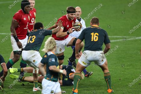 Iain Henderson of British & Irish Lions during the 2021 British and Irish Lions tour to South Africa warm up match between the South Africa A side and the British and Irish Lions held at the Cape Town Stadium in Cape Town, South Africa on the 14th July 2021