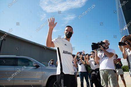 Editorial photo of Juventus new season start, Turin, Italy - 14 Jul 2021