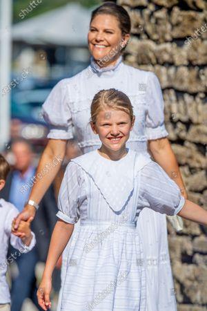 Crown Princess Victoria and Princess Estelle