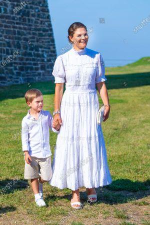 Crown Princess Victoria and Prince Oscar