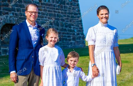 Editorial photo of Crown Princess Victoria's 44th birthday, Borgholm, Oland, Sweden - 14 Jul 2021