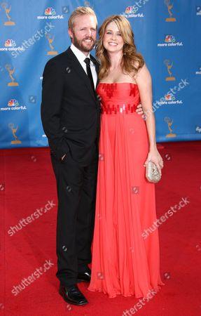Lee Kirk and Jenna Fischer
