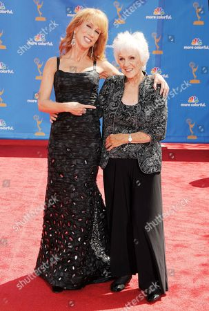 Maggie Griffin and Kathy Griffin
