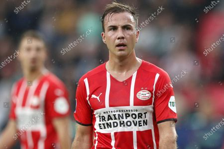 Mario Gotze of PSV Eindhoven during the friendly match between PSV Eindhoven and PAOK FC at Phillips stadium in Eindhoven, Netherlands, 14 July 2021.